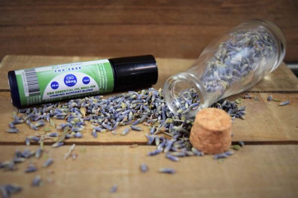 CBD Essential Oil Roll-On - Unwind Support Blend