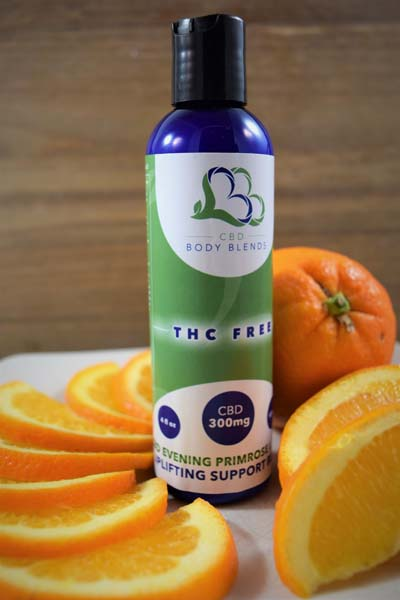 CBD Evening Primrose Lotion - Uplifting Support Blend