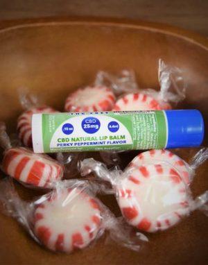 CBD Natural Lip Balm - Perky Peppermint